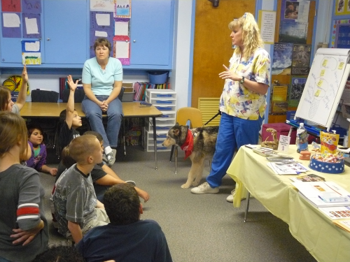 Career Day at Oregon School 2011